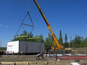 General contracting on large scale industrial project in Fort St. John area.