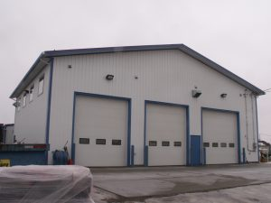 General contracting on new commercial and industrial shop construction