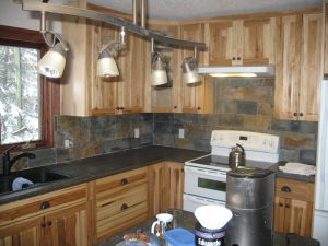 Kitchen renovations including custom finishes, cabinetry, appliances